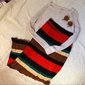 Dresses & Skirts - Parisian market striped skirt